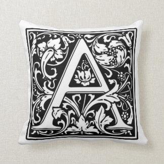 Monograma um travesseiro almofada