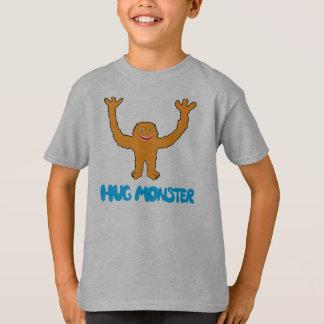 Monstro do abraço (alaranjado) t-shirts