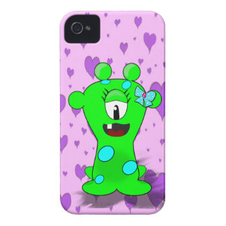 Monstro verde feminino capinha iPhone 4