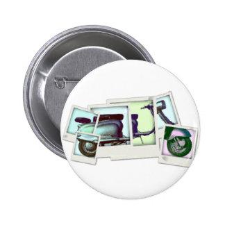 montagem da foto do lambretta bóton redondo 5.08cm