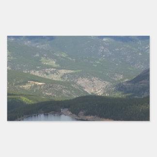 Montagem Evans, Colorado Adesivo Retangular