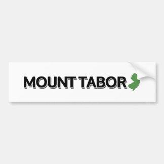 Montagem Tabor, New-jersey Adesivo De Para-choque
