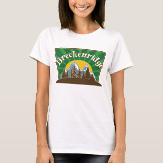 Montanha de Breck Sun Camiseta