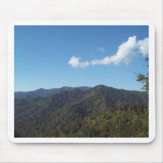 Montanha de grande enfumaçado Vista 7 Mouse Pads