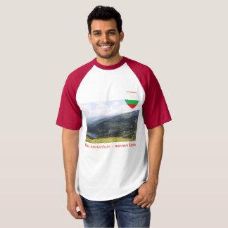 Montanha de Rila - amor Bulgária do t-shirt de