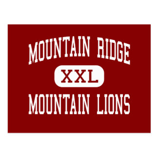 Montanha Ridge - leões de montanha - alto - Cartão Postal