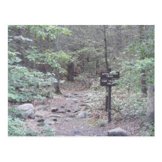 montanha sul de Pensilvânia da fuga apalaches Cartão Postal