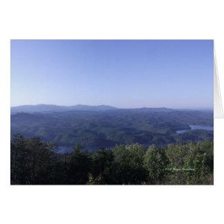 Montanhas apalaches cartão