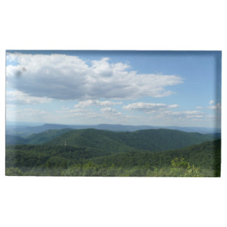 Montanhas apalaches mim Shenandoah Suportes Para Cartoes De Mesa