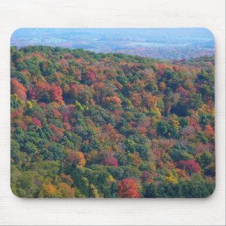 Montanhas apalaches na fotografia da natureza da mouse pad