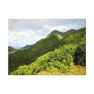 Montanhas de Koolau Impressão Em Canvas