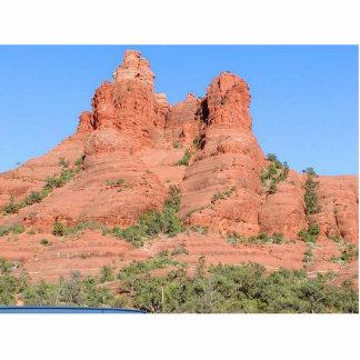 Montanhas de Sedona vermelhas Foto Escultura