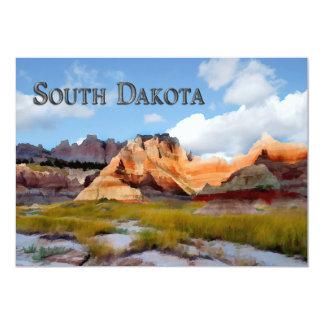 Montanhas & ermo NP South Dakota do céu Convite Personalizados