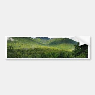 Montanhas fumarentos em Great Smoky Mountains Adesivo Para Carro