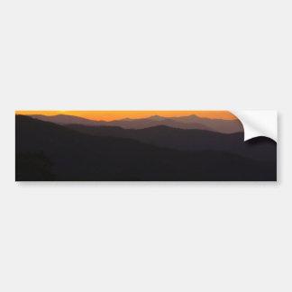 Montanhas majestosas adesivo para carro