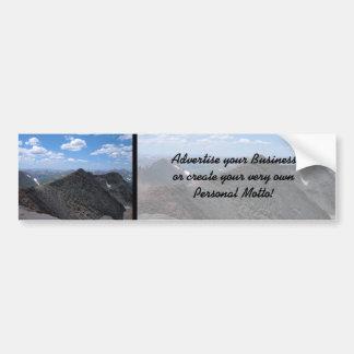 Montanhas rochosas Moonscape de Colorado Adesivo Para Carro