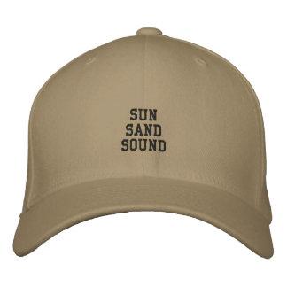 Montauk Sun, areia e som Boné Bordado