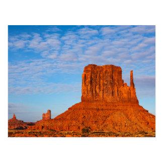 Montículo ocidental do mitene cartão postal