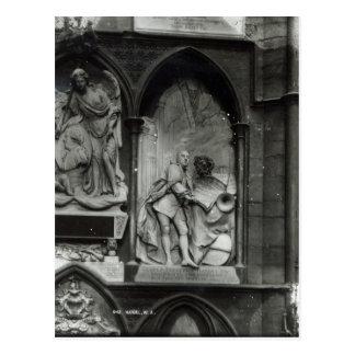 Monumento a Handel, 1762 Cartão Postal