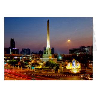 Monumento da vitória cartão