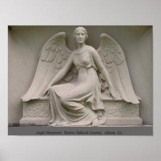 Monumento do anjo posters