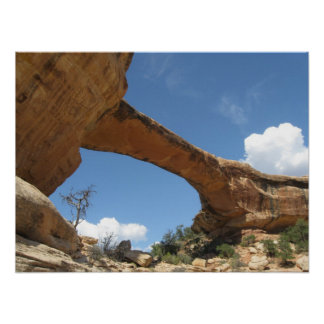 Monumento nacional das pontes naturais poster