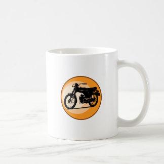 """Moped clássico """"EFERVESCENTE"""" de Yamaha FS1E Caneca De Café"""