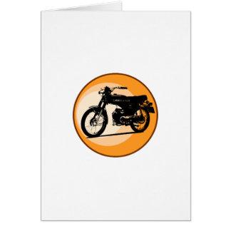 """Moped clássico """"EFERVESCENTE"""" de Yamaha FS1E Cartão Comemorativo"""