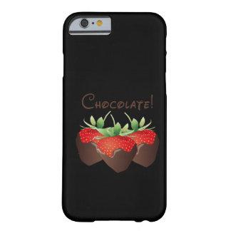 Morango do chocolate capa iPhone 6 barely there