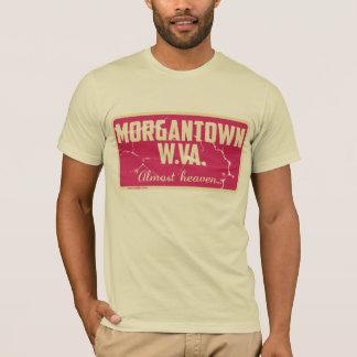 Morgantown: Quase céu Camisetas