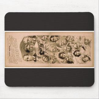 Morno Recepção Vintage Teatro do doutor Mouse Pad
