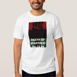 MORTE DO APARTHEID TSHIRTS