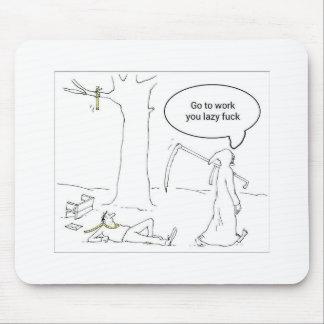 morte engraçada mousepad