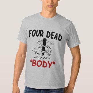 MORTO americano básico das ferraduras 4 do roupa Camisetas