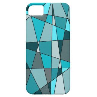 mosaico azul capas iPhone 5 Case-Mate