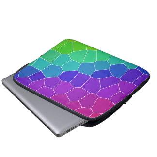Mosaico do arco-íris capa de computador notebook