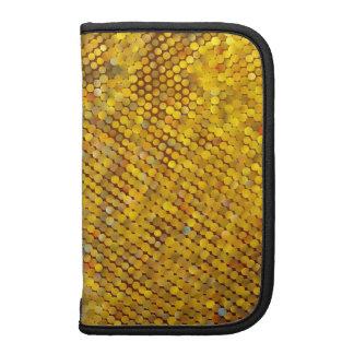 Mosaico Glittery do ouro Agenda