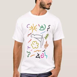 Mosaico islâmico camiseta