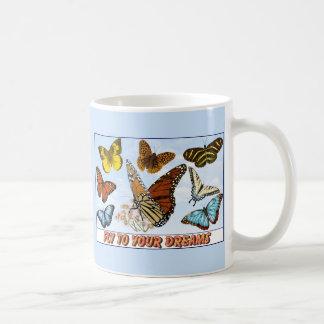 Mosca a seus sonhos caneca de café