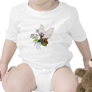 Mosca do dispositivo macacãozinho para bebês