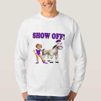 Mostre fora camiseta