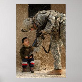 Mostre-me onde fere o soldado e a criança poster