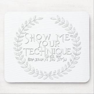 Mostre-me sua técnica - desde 1914 mouse pad