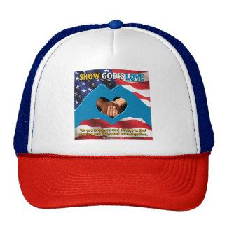 MOSTRE o chapéu do AMOR do DEUS Boné