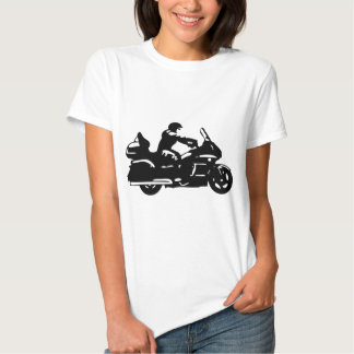 moto da motocicleta do motociclista que goldwing camiseta