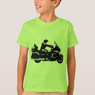 moto da motocicleta do motociclista que goldwing camisetas