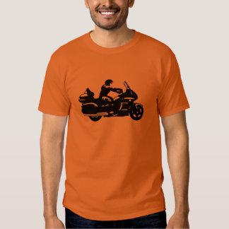 moto da motocicleta do motociclista que goldwing t-shirt