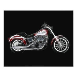 Motocicleta do Heavyweight do porco do interruptor Flyer 11.43 X 14.22cm