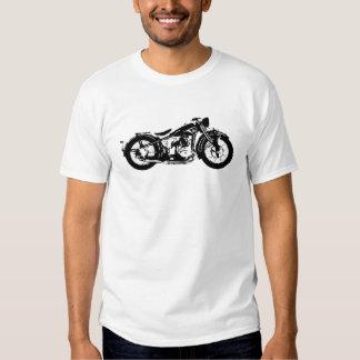 Motocicleta do vintage tshirts