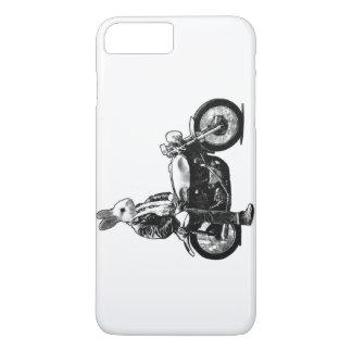 Motociclista do coelho capa iPhone 7 plus